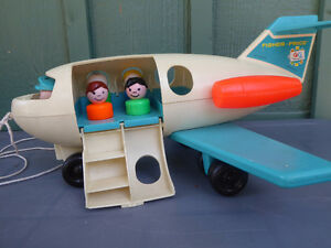 Fisher Price Airplane with people