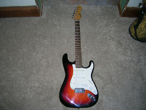 Beginner Electric Guitar - Strat Copy - Works Great