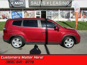2012 Chevrolet Orlando LTZ   HEATED FRONT SEATS! 7PASS LEATHER!