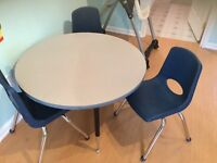 Daycare/preschool table and chairs