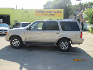 2001 Lincoln Navigator NEW SAFETY AND WARRANTY SUV, Crossover