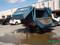 Ford F450 small garbage truck/vacuum/dump truck