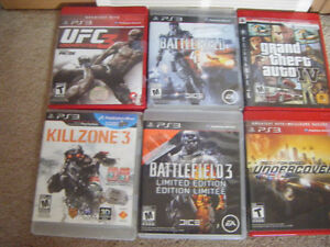 some Sony PS3 games