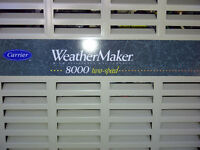 Carrier two speed Weathermaker 8000 furnace