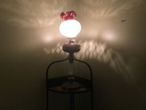 Turn of the century antique table lamp