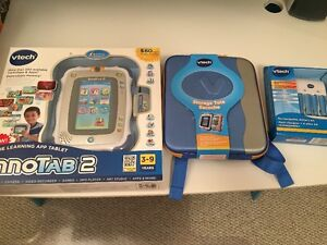 Brand New - VTech Inno Tab with Storing Tote and extra battery
