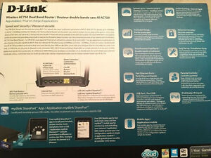 D-Link wireless AC750 Dual Band Router -BRAND NEW  Peterborough Peterborough Area image 3