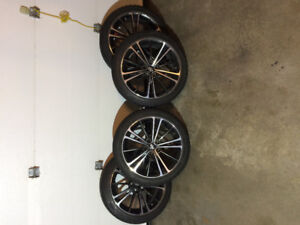 "4 Blizzak winter tires on 17"" rims for sale!"