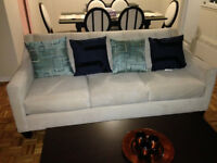 coffee table, couch and patio furntiure