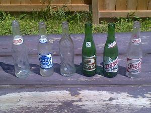 Vintage Beverage Bottles