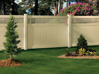 Weekly Special - Privacy Vinyl Fencing