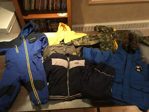 Size 18-24 and 2t outdoor clothes