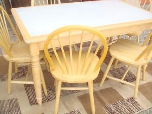 DINING SET- SOLID WOOD