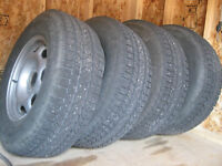 New winter tire package