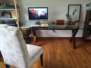 Glass Dining Table (Pier One)