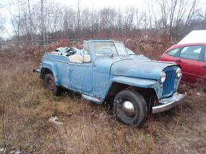 1949 Willys Jeepster Cambridge Kitchener Area image 1