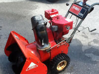 Toro 5 hp dual stage snowblower