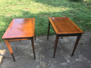 VINTAGE END TABLES FROM EATONS