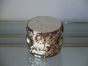 Bath and Body Works Decorative Candle and Holder