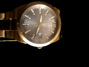 Gold Tone Bulova Watch