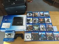 Ps4 and accessories