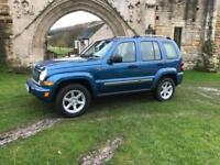 2004-54 Jeep Cherokee 2.8TD ( 161bhp ) 4X4 Limited 5 door Manual