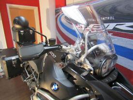 BMW R 1200 GSA TRIPLE BLACK