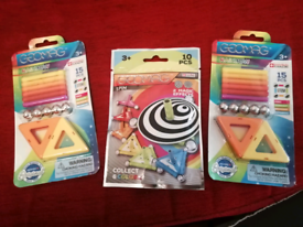 NEW GEOMAG TOYS