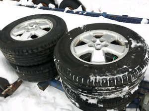Ford Escape Rims with Tires