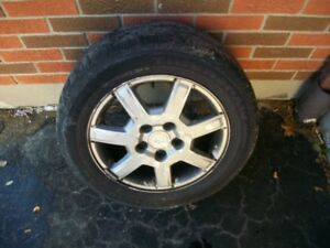 TIRES AND RIMS FOR CADILLAC CTS
