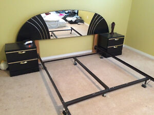 Bedroom Furniture Set with Mattress and drawers