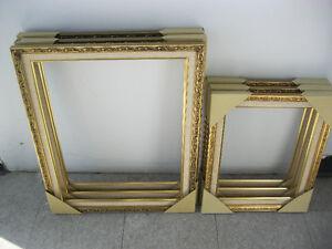 Gold Picture frame/Encadrement Or   11x14'' ou 16x20'' NOUVEAU