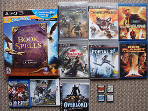 PS3, 3DS, DS, Vita, BluRay