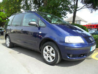 VOLKSWAGEN SHARAN 1.9 TDi 2003 AUTO COMPLETE WITH M.O.T HPI CLEAR INC WARRANTY