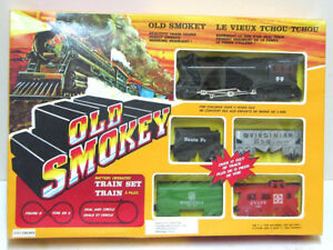 Toy Old Smokey Train Set Battery Operated Toy Great