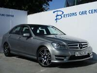 2012 62 Mercedes-Benz C350 CDI 7G-Tronic CDI AMG Sport Plus for sale in AYRSHIRE