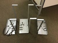 IKEA under the desk computer holders