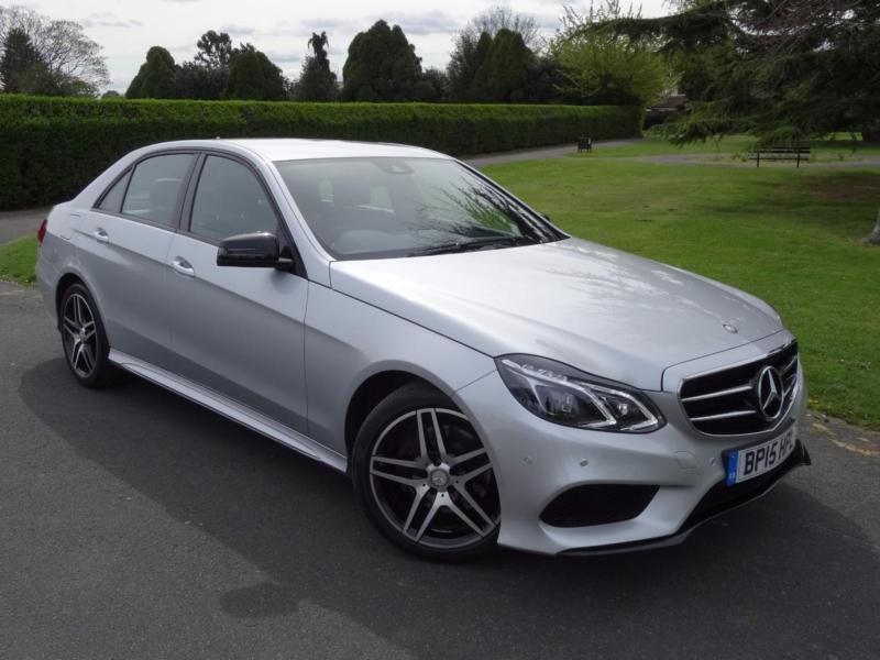 mercedes e class e220 cdi bluetec amg night edition 2015 15 in redbridge london gumtree. Black Bedroom Furniture Sets. Home Design Ideas
