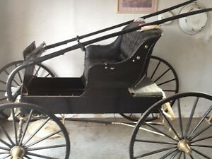 ANTIQUE BUGGY, RESTORED to NEW CONDITION---NOW-$1200
