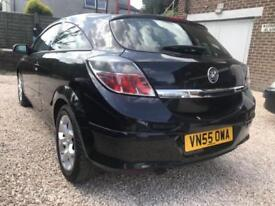 Vauxhall Astra 1.6i Sport SXi BLACK WARRANTY 12 MONTHS MOT FULL SERVICE HISTORY
