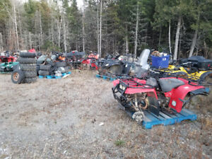 Atv/fourwheeler & dirtbike parts bikes are listed in description