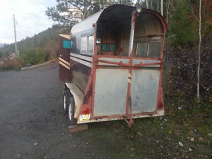 u-built two horse trailer