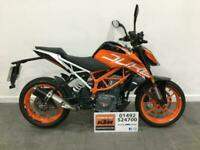 2020 KTM 390 Duke only 329 miles warranty until July '22, first service included