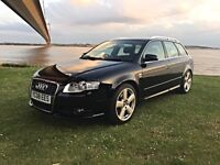AUDI A4 AVANT 2.0 TDI 170 S-LINE, 2008, FULL SERVICE HISTORY, STUNNING CONDITION, BEST AVAILABLE.