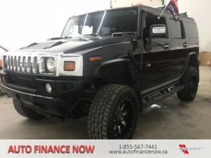 2006 Hummer H2 4dr AWD SUVBLACK ON BLACK FUEL RIMS TOYOS