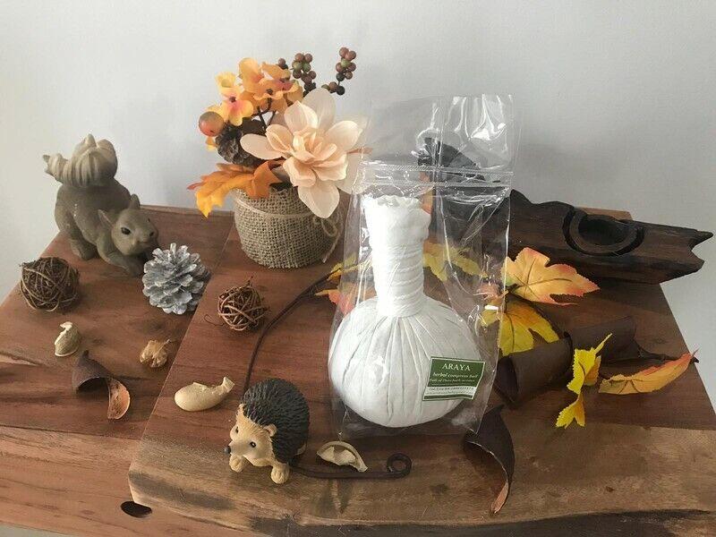 Thai Kräuterstempel 150g für Thai Massage Wellness Spa Körper Herbal balls