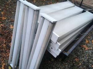 40-Watt 2-Light White 4 ft. Fluorescent Strip Light