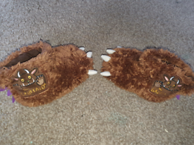 Gruffalo slippers size 7