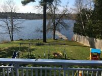 French River Ontario vacation home great fishing and hunting !!