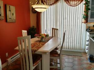 mobilier de cuisine blanc voir photo